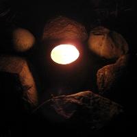 Teelicht-Feuerstelle